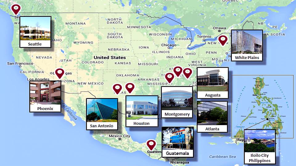Convergent Locations